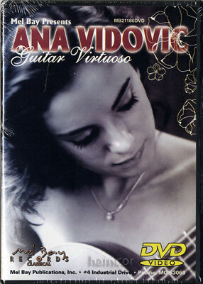 Ana Vidovic Guitar Virtuoso Solo Classical Guitar Performance DVD NEW SEALED