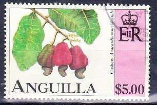 1997 Anguilla $5 Fruit Stamp SG1002 Very Fine Used Ref: SC2002