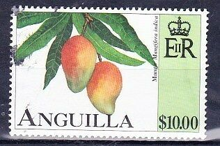1997 Anguilla $10 Fruit Stamp SG1003 Very Fine Used Ref: SC2003