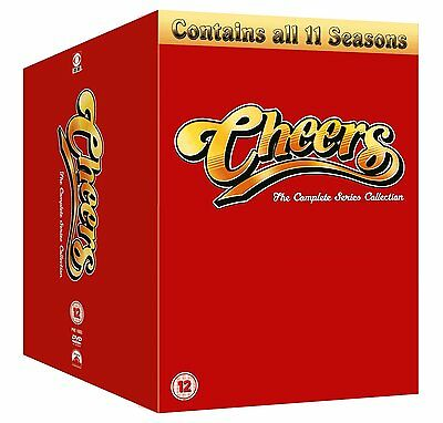 ❏ Cheers : Complete Series 1 - 11 - Box Set Collection - Ted Danson - New DVD ❏