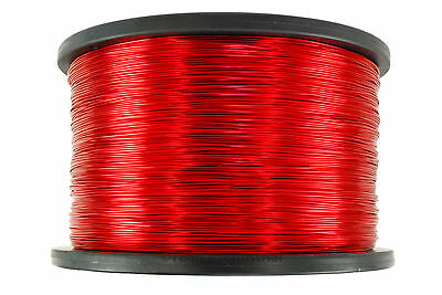 Magnet Wire 18 AWG Gauge Enameled Copper 10lb 155C 1990ft Magnetic Coil Winding