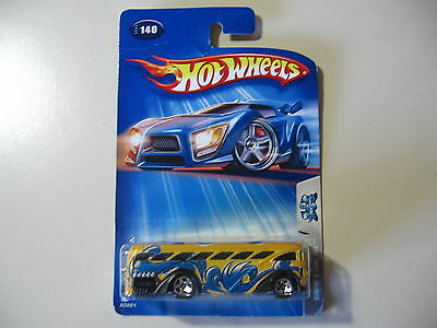 Hot Wheels: 2004 Tag Rides: Surfin' S'Cool Bus, Brand New and Sealed