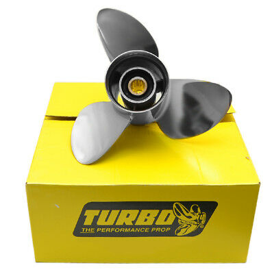 PRECISION PROPELLER QY132521R TURBO QUEST YAMAHA 13 1/4 X 21 PIT 3RH BOAT PROP