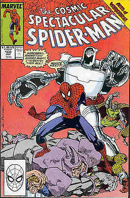 Peter Parker Spectacular Spiderman # 160 (Acts of Vengeance tie-in) (USA, 1990)