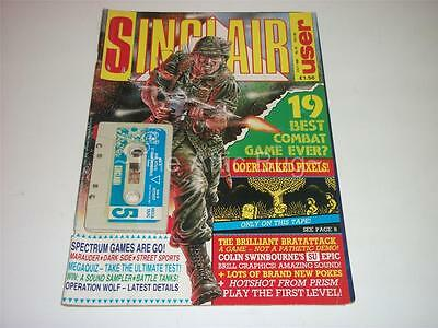Sinclair User Magazine ~ July 1988 ~ No.76 ~ *With Cover Tape*
