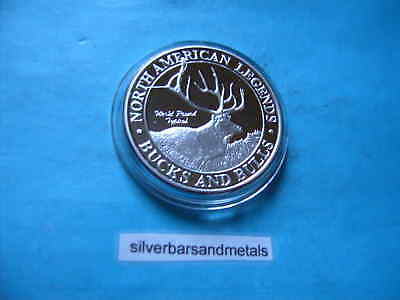 World Record Typical Buck & Bulls American Legends 999 Silver Sharp Cool #2