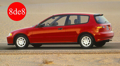 Honda Civic (1992) 3P - Manual de taller en CD / Workshop Manual on CD