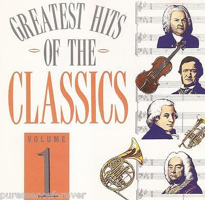 V/A - Greatest Hits Of The Classics Volume 1 (UK 8 Tk CD Album)