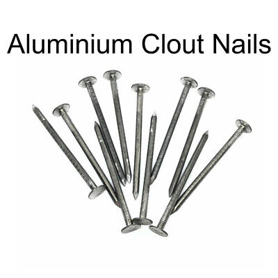 Aluminium Clout NailsSlate Roof Nails 5 SizesFREE Delivery