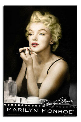 Marilyn Monroe Lipstick Large Wall Poster New - Laminated Available