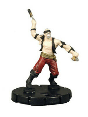 Heroclix Horrorclix 2x x2 Knife Thrower - 032 experienced Freakshow NM with card