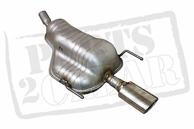 Vauxhall Astra H Mk5 1.6 1.8 Rear Exhaust Box Silencer 2006-inc Chrome Trim