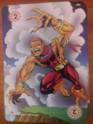 Marvel Overpower Monumental Fighting Level 1 Wasp X2 Power Card Mint