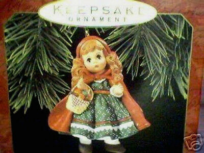 1997 Hallmark Madame Alexander LITTLE RED RIDING HOOD #2 in the Series NEW
