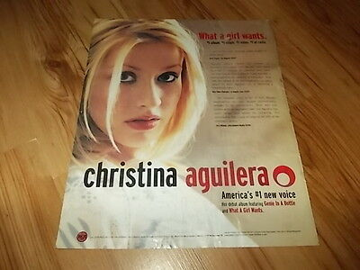 Christina Aguilera-1999 large magazine advert