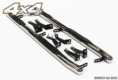 For Kia Sorento 2003 - 2009 Chrome Side Step Bars Running Boards Set
