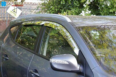 For Hyundai IX35 2010 - 2015 Chrome Wind Deflectors Set (4 pieces)