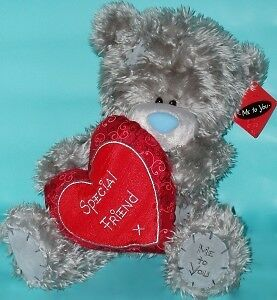 """Me To You 'Special Friend' Love Heart Valentines Tatty Teddy Bear/Gift 12"""""""