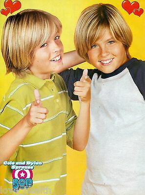 """COLE & DYLAN SPROUSE - THE SUITE LIFE - TEEN BOY ACTOR - 11"""" x 8"""" PINUP - POSTER"""