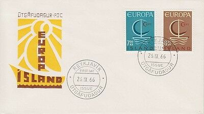 Iceland 1966 - Europa - Fdc Annullo Speciale