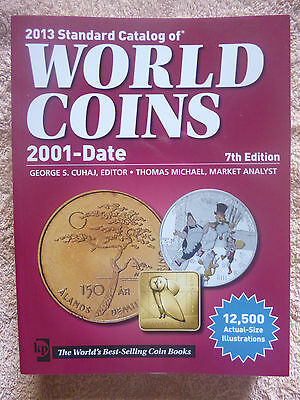 KRAUSE 2013 WORLD COIN CATALOGUE 7th EDITION 2001-Date 12,500 Illustrations
