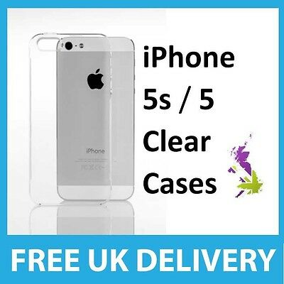 Crystal Clear Case Cover for iPhone 5 - WHOLESALE 25x