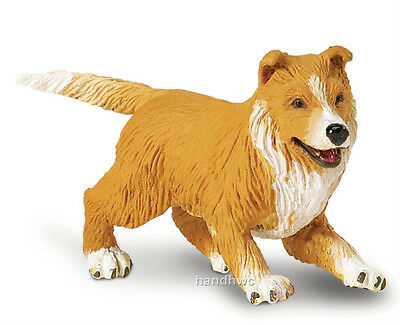 Safari Ltd. 239429 Collie Puppy Dog Toy Animal Canine Figurine Gift - NIP