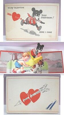 Vintage Valentine,EARLY MICKEY MOUSE,Love-O-Gram,Pop-Up,C.1930