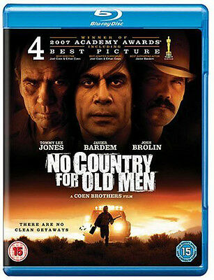 Blu-Ray  No Country For Old Men       Brand New Sealed Uk Stock