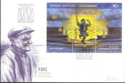 2006 Aland First Day Cover Special Postmark Ref: H500