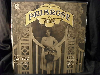 Primrose / Musical Comedy / Music by George Gershwin