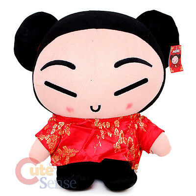 Pucca Plush Doll  Jumbo Plush Doll  Detailed Figure Doll  Soft Suffed Toy 16""