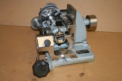 Microtome 840, Rotary, American Optical, With 831 Knife Holder