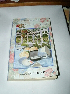 SHADES OF EARL GREY by LAURA CHILDS 2003 PB A TEA SHOP MYSTERY