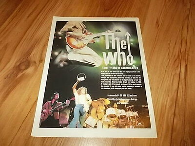 The Who-magazine advert