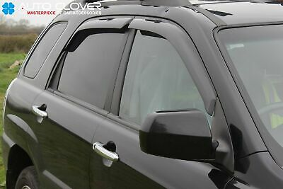 For Kia Sportage 2005 - 2010 Wind Deflectors Set - 5 door (4 pieces)