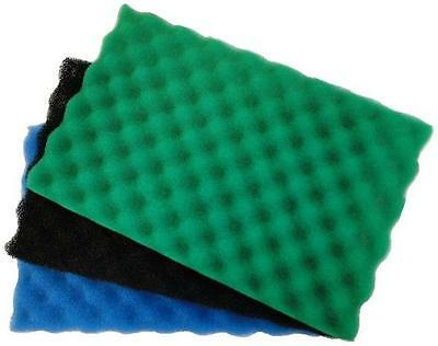 Garden Fish Pond Spare Replacement Filter Foam Sponge Set x3 Fine Medium Coarse