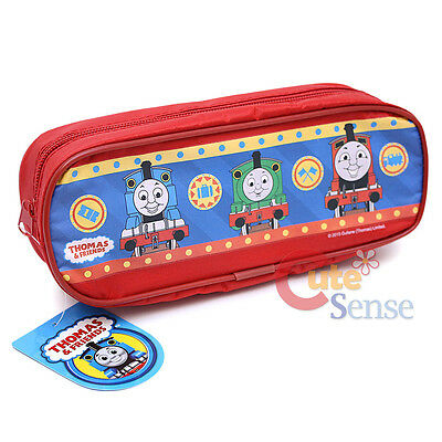Thomas Tank Engine Friends Pencil Case Zippered Pouch Bag - Red
