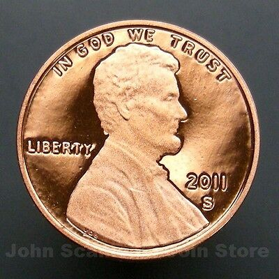 2011-S Lincoln Union Shield Cent Penny - Gem Proof Deep Cameo U.S. Coin