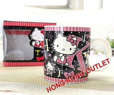 Hello Kitty Ceramic Cup Mug Original Japan Sanrio   A80b