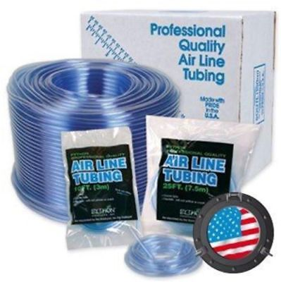 Python Aquatic Air Line Tubing Flexible Clear / Blue Airline Tube Fish Aquarium
