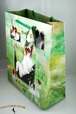 Papillon Dog Gift Present Bag