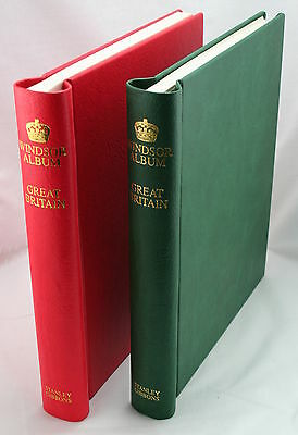 Windsor GB Popular Stamp Album Vol I. 1840-1952.