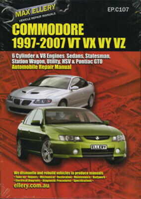 Holden Commodore VT VU VX VY VZ Workshop Repair Manual