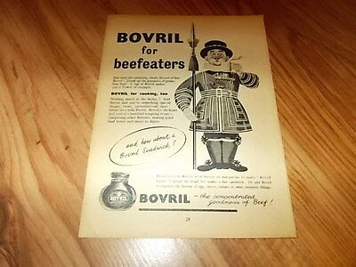 Bovril-1954 magazine advert