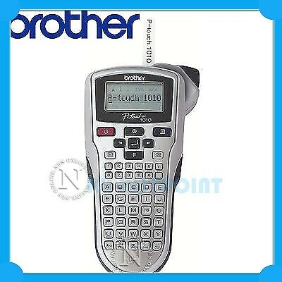 Brother PT-1010 P-Touch Label Printer Thermal Labeller /w Starter Label Inc.