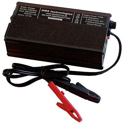 DMS Three Stage Battery Charger, For Varley Red Top Batteries