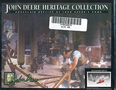 John Deere Heritage Collection Holiday Accessory Kit 3 MINT New in Box NIB