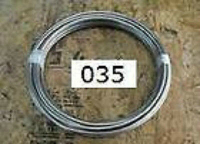 """15 FT 1/4"""" TUBING .250 X .035 316L STAINLESS STEEL TUBE"""