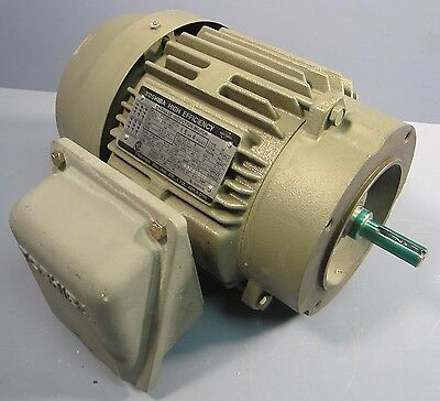 Toshiba 1.5 HP 3 Phase Induction Motor Type IK BY154FLC2AOZ 1740 RPM TEFC NWOB